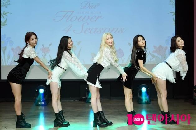[TEN 포토] 다이아  '플라워 포시즌~'