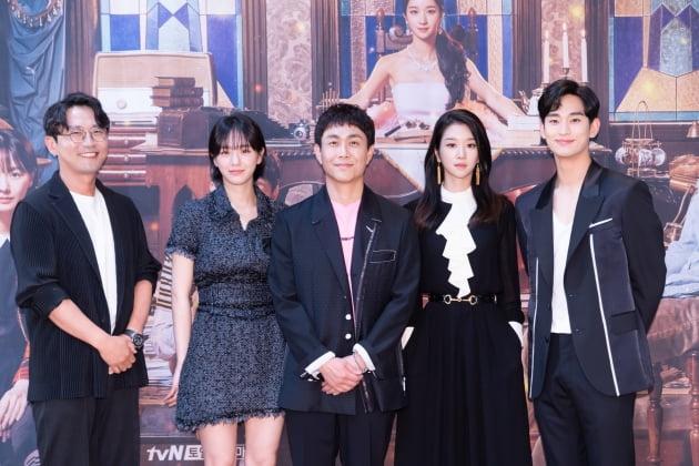 """""""다 된 밥에 살짝""""…김수현, '사이코지만 괜찮아'로 5년만 복귀 '목표는 15%' [종합]"""