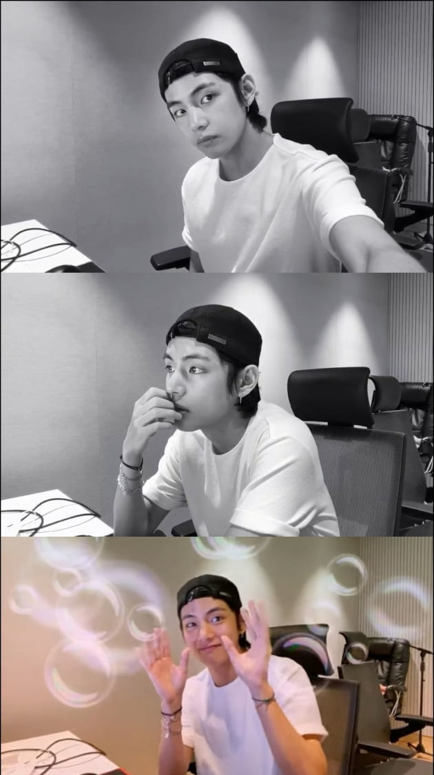 방탄소년단 뷔/ 사진= 방탄TV 유튜브 캡처