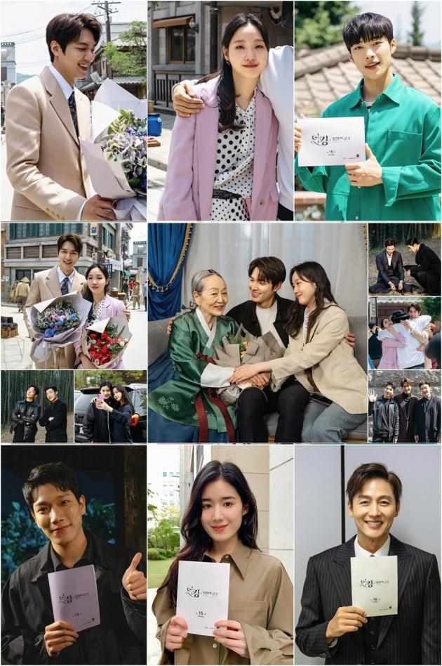 '더 킹-영원의군주' 출연진 마지막 촬영현장/ 사진=SBS 제공