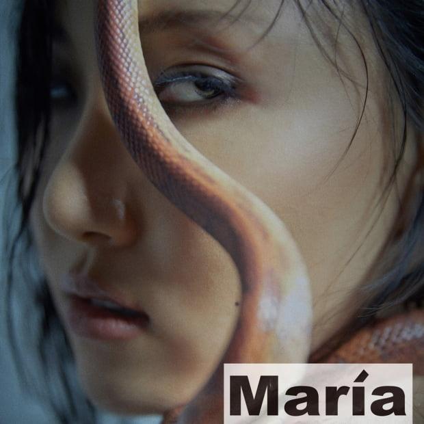 그룹 마마무 화사의 첫 미니앨범 'Maria' 이미지 / 사진제공=RBW