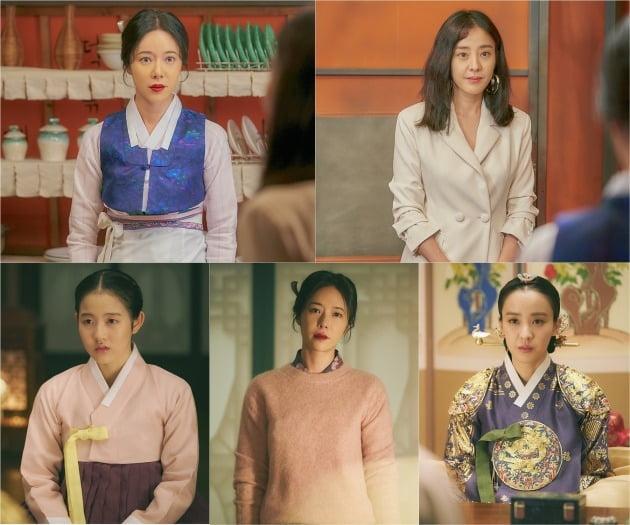 '쌍갑포차' 황정음, 박은혜가 불편한 재회를 한다. / 사진제공=삼화네트웍스, JTBC스튜디오