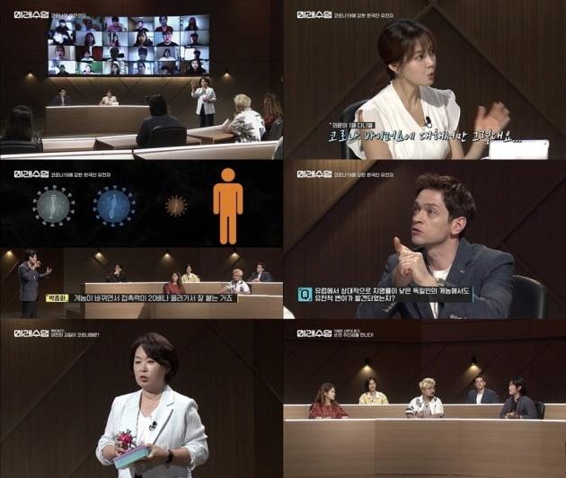 사진 = tvN '미래수업' 방송 화면.