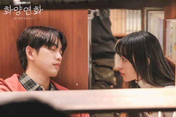'화양연화 - 삶이 꽃이 되는 순간' 현장 포토. /사진제공=tvN
