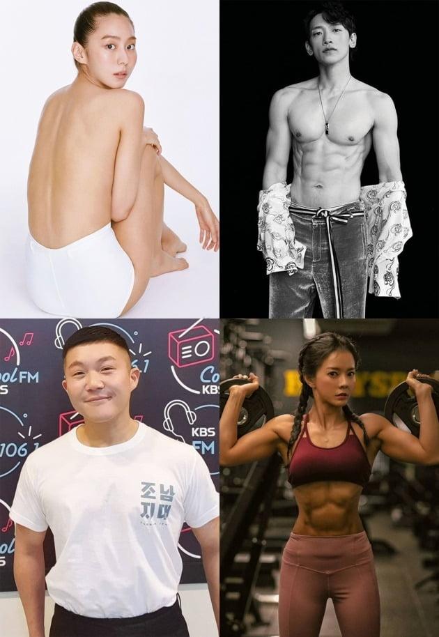 건강한 다이어트에 성공한 스타들이 화제를 모으고 있다. / 사진제공=싱글즈, 바자, 인스타그램