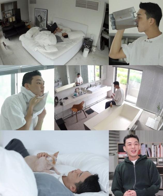 '나혼자산다' 유아인, 3층 집 최초 공개…대형 갤러리+의류 매장급 스케일 [종합]
