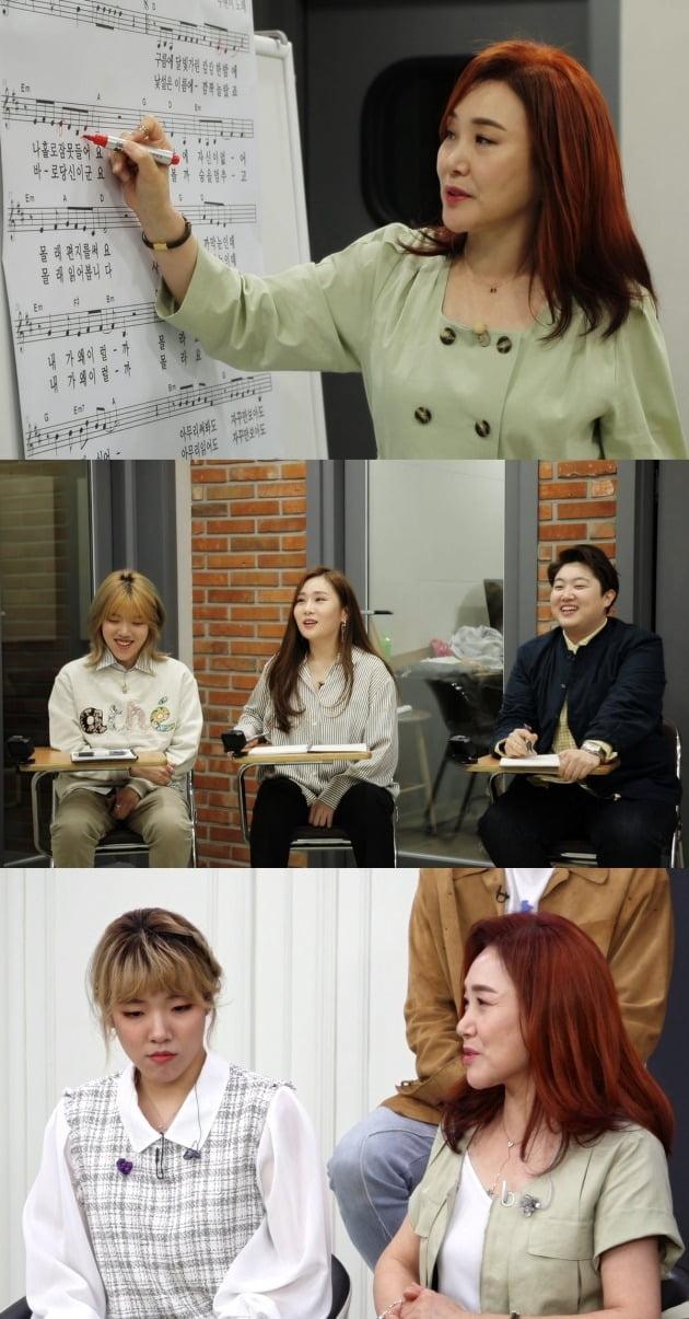 '트롯신이 떴다' 주현미가 노래 강사로 변신했다. / 사진제공=SBS
