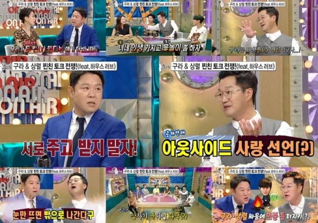 '라디오스타' 김구라 지상렬 / 사진 = MBC 제공