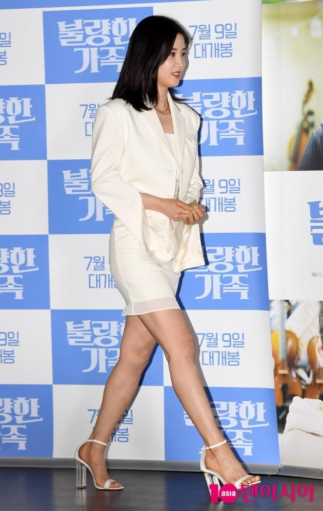 [TEN 포토] '불량한 가족' 박초롱 '오늘은 영화배우~'