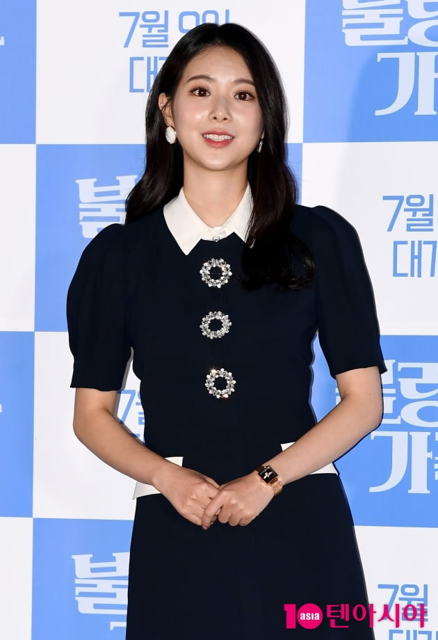 [TEN 포토] '불량한 가족' 김다예 '싱그러운 미소'