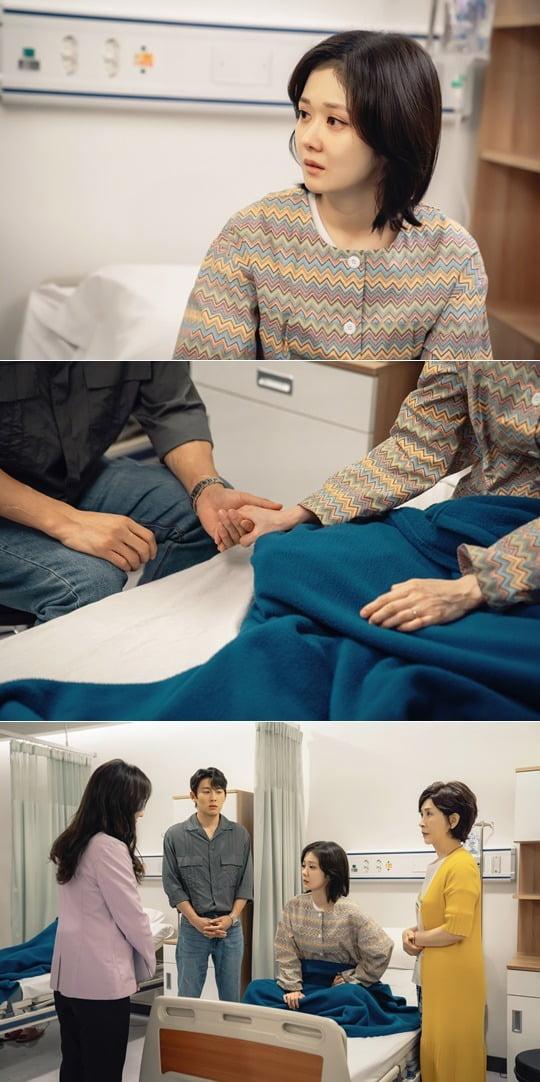'오마베' 장나라가 선택의 기로에 놓였다. / 사진제공=tvN