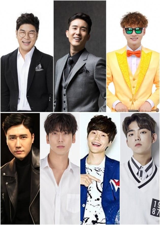 '사랑의 콜센타' TOP7과 현역7이 트로트 대결을 펼친다. / 사진제공=TV조선
