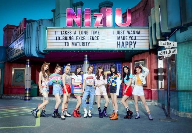 그룹 니쥬./ 사진제공=JYP엔터테인먼트 Sony Music Entertainment (Japan) Inc.