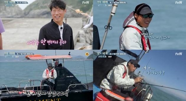 '삼시세끼' 유해진/사진=tvN '삼시세끼 어촌편5' 영상 캡처