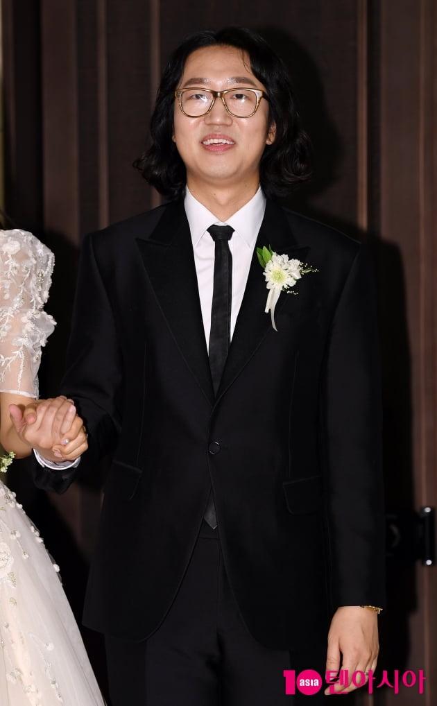 "[TEN 포토] 김경진 ""개그맨&모델 1호 부부 좋은 본보기가 되겠다"""