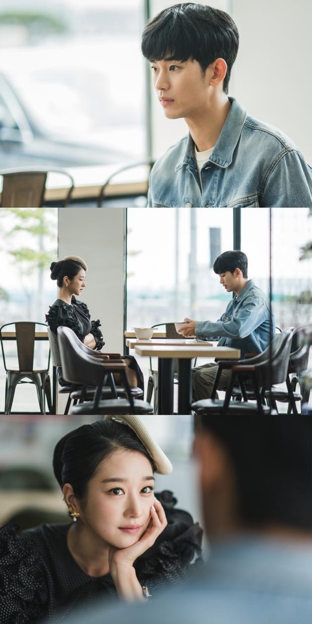 '사이코지만 괜찮아' 김수현-서예지./ 사진제공=tvN