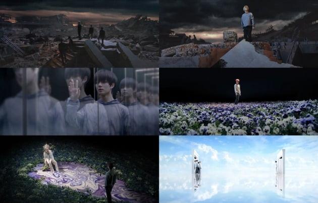 투모로우바이투게더 'Eternally' 뮤직비디오 캡처.