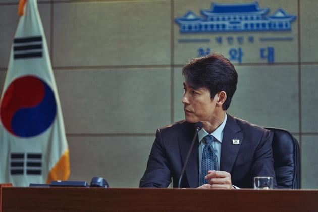 """'강철비2' 정우성, 이번엔 대통령…""""북미 정상 사이 심리 묘사에 신경 썼다"""""""