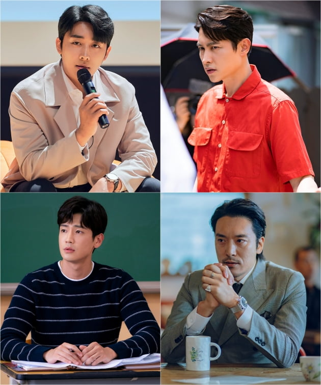 '우리 사랑했을까' 남자배우들/ 사진=JTBC 제공