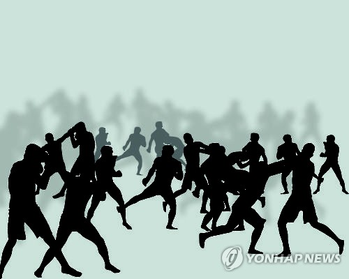 고려인 30여명 시내 주차장서 집단 난투극…경찰 수사