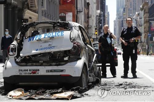'총·칼·화살의 무법천지'…미 흑인사망 유혈사태 악화일로