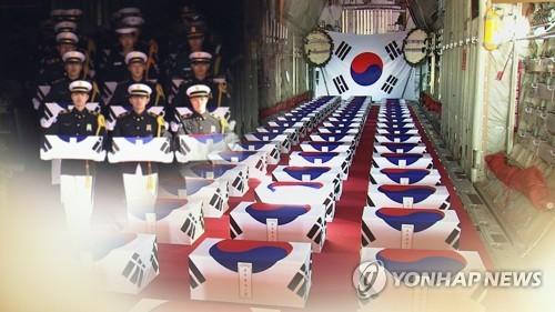 """6·25 전쟁 70주년 철원서 거행…""""강원도는 전쟁 최대 피해자""""(종합)"""