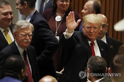 """볼턴, 트럼프 재선 길에 '폭탄 투척'…""""시진핑에 지원 간청""""(종합2보)"""