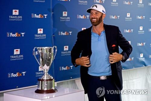 PGA 투어 통산 21승 존슨, 세계 랭킹 3위로 3계단 상승