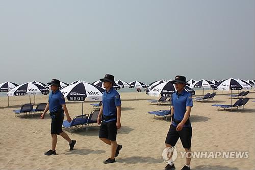 부산 해수욕장 여름경찰서 운영…몰카·코로나 예방 만전