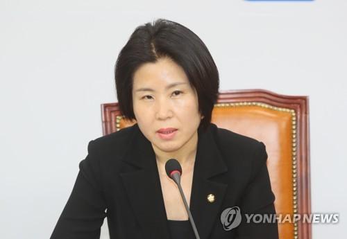 """통합당 김미애 """"보강수사로 오 전 시장 영장 재청구해야"""""""