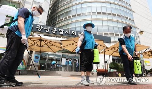 경기도 누적 확진 1천명 넘어서…리치웨이발 11명 등 16명↑