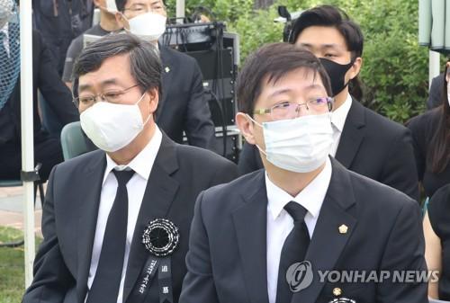 """김홍걸 """"동교동 자택 상속은 어머니 유지"""""""