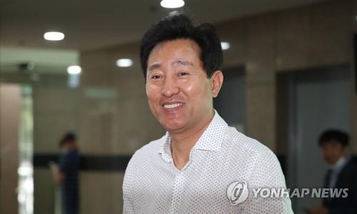 """오세훈, '백종원 대선후보론'에 """"더 분발하겠다"""""""