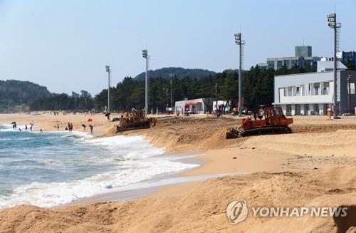 """강원 동해안 해수욕장 '청정·안전'…""""코로나19 방심은 금물"""""""