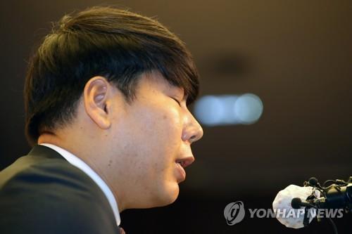 """강정호 키움 복귀 철회…""""매우 큰 잘못 다시 한번 느껴"""""""