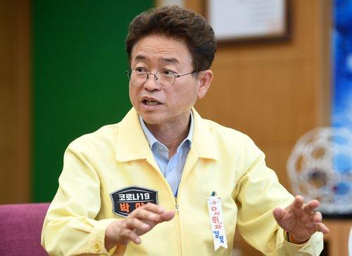 경북지사·도의회 의장단 군위·의성군수에 신공항 합의 요청