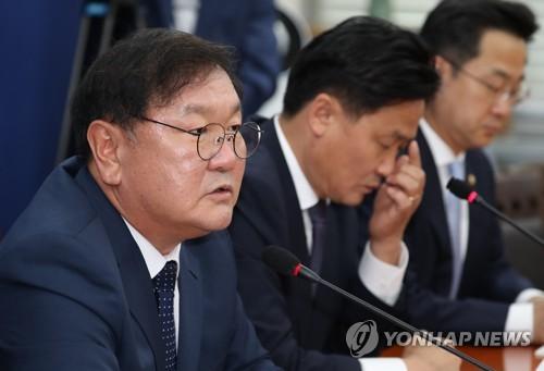 """김태년 """"통합당 빼고 상임위원장 선출…불가피한 선택"""""""