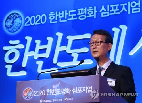 """[평화심포지엄] 조성부 사장 """"연합뉴스, 한반도 평화 위해 노력할 것"""""""
