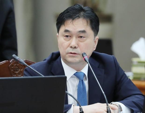 질의하는 김종민 의원/사진=연합뉴스