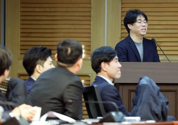 초청 강의나선 김경율 전 참여연대 집행위원장 (사진=연합뉴스)