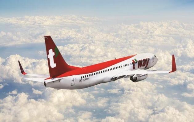 저비용항공사(LCC) 티웨이항공이 642억5000만원 규모의 유상증자를 결정했다. 사진=연합뉴스