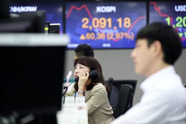 16일 코스피지수가 3% 가까이 반등 출발했다. /사진=연합뉴스