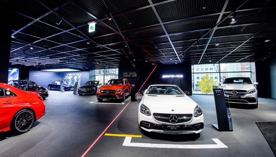 벤츠 AMG 판매 급증, 전용 전시장 세운다