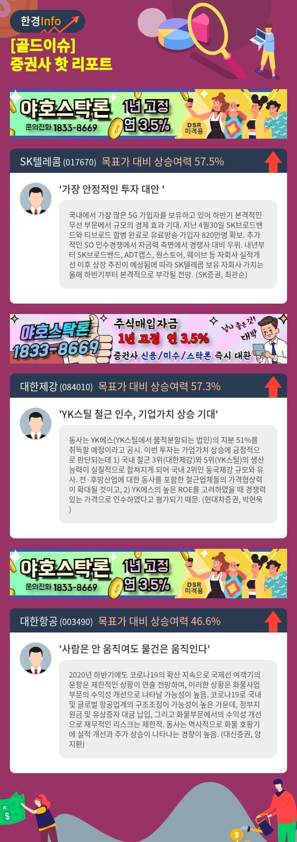 [골드이슈] 증권사 핫 리포트