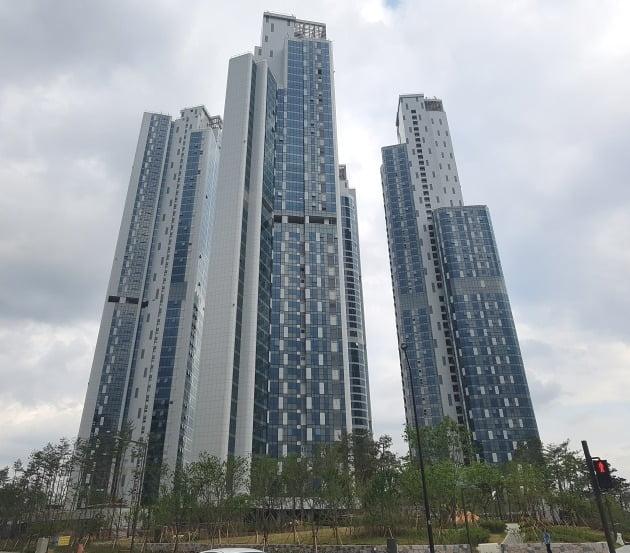 서울 성동구 성수동 '트리마제' 아파트 전경. 한경DB