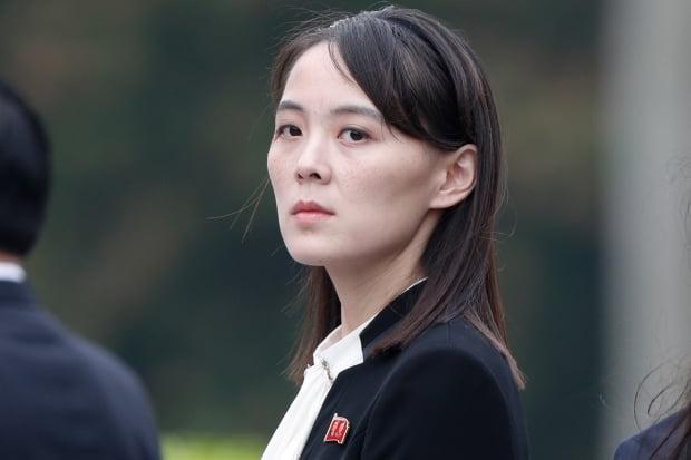 김여정 노동당 제1부부장. 사진=연합뉴스