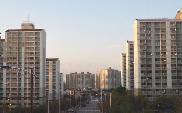 충북 청주의 한 아파트단지 전경. 게티이미지뱅크