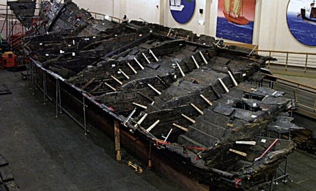 복원된 신안해저유물선. 사진=윤명철  동국대 명예교수·우즈베키스탄 국립 사마르칸트대 교수