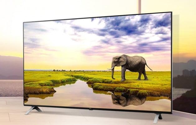 LG전자 LCD 나노셀 TV 신제품. [LG전자 제공]