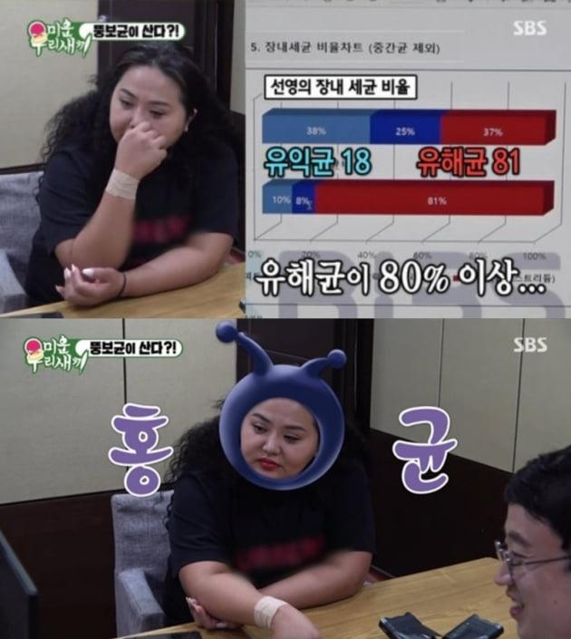 """홍선영 살 찐 이유 """"뚱보균 상위 10%"""" 때문? 뭐길래…"""